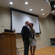 On March 26, 2015, retired diplomat James Huskey and author Joanne Huskey gave a public talk on careers in the foreign service and global citizenship